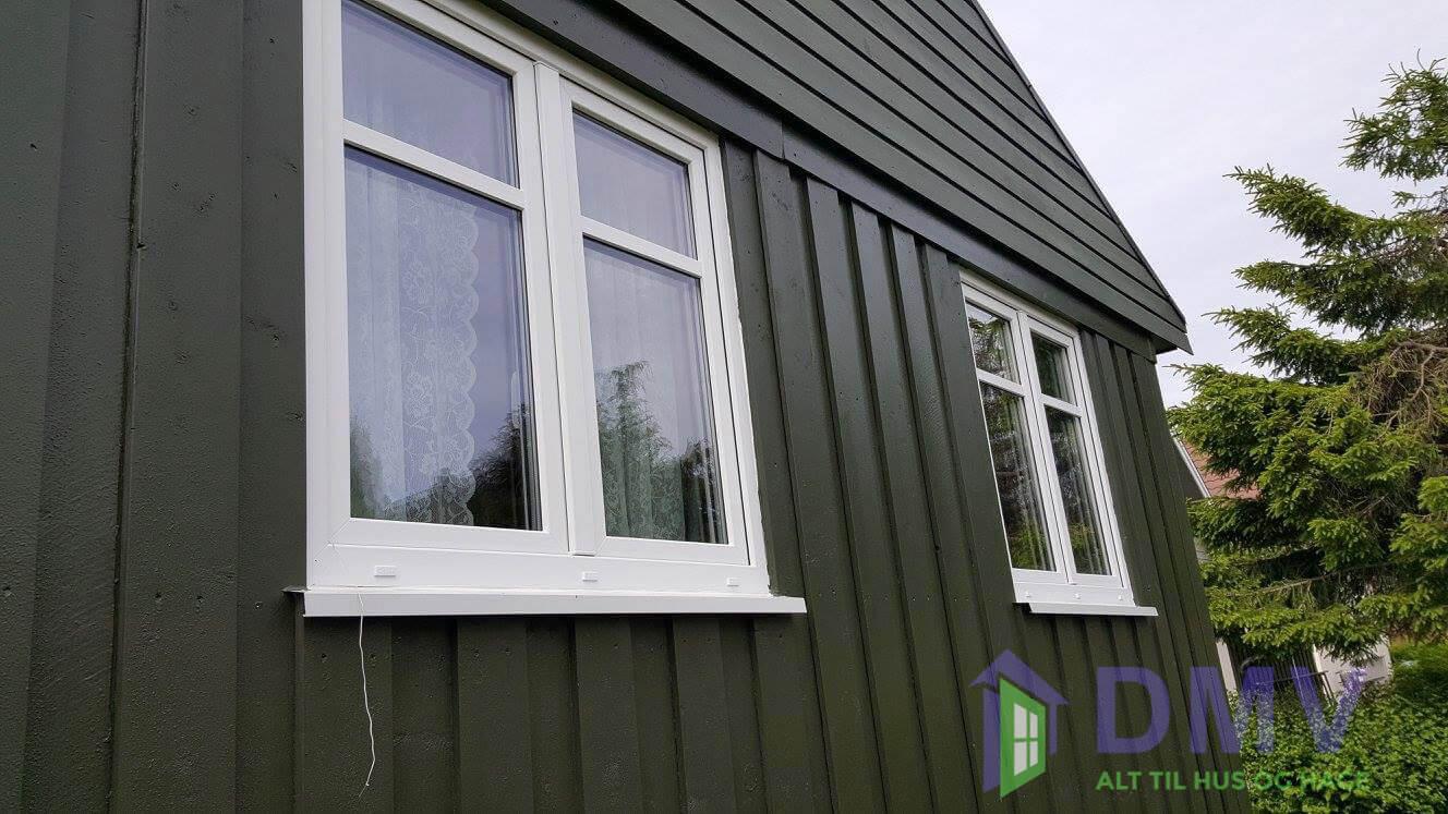 Hvordan vinduer ser ut ferdig montert